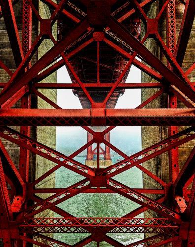 A Change Of Perspective / Αλλαγή προοπτικής Golden Gate Bridge, San Francisco, June 2013 / Γέφυρα Golden Gate, Σαν Φρανσίσκο, Ιούνιος 2013