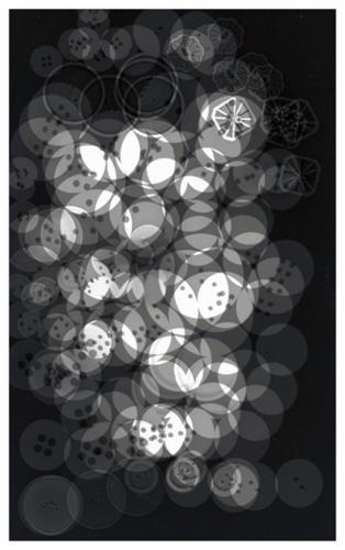 Φωτόγραμμα Κουμπιά / Photogram Buttons