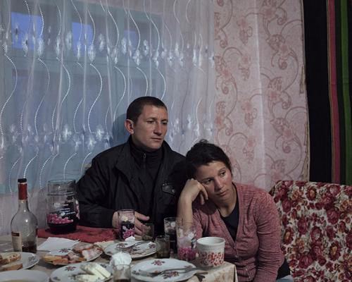 Μολδαβία, χωριό Crasnaseni, 2016. Ion και Cristina. Republic of Moldova, Crasnaseni, 2016. Ion e Cristina.