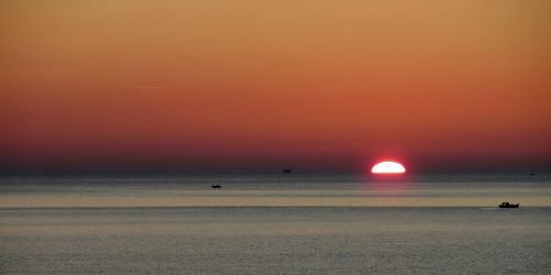 Άνατολή του ηλίου / Rising sun