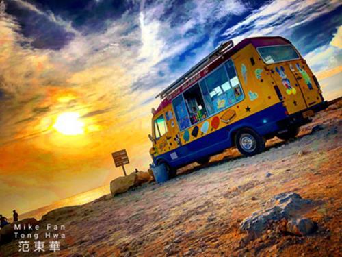 Παγωτό στο ηλιοβασίλεμα (Κύπρος) / Sunset ice-cream (Cyprus)